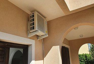 zadar klima air con near roof