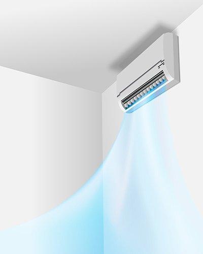 zadar klima air condition wall